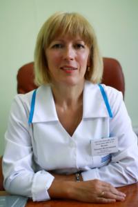 Заведующий детским поликлиническим отделением № 75, врач педиатр Вялова Татьяна Валентиновна
